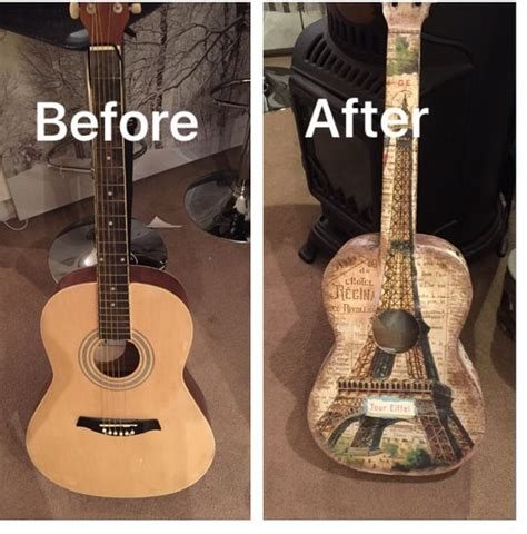 How To Decoupage A Guitar - guitar photos of and photos on