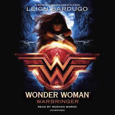 libro women power a wonder woman warbringer by leigh bardugo mozhan marno audio compact disc unabridged