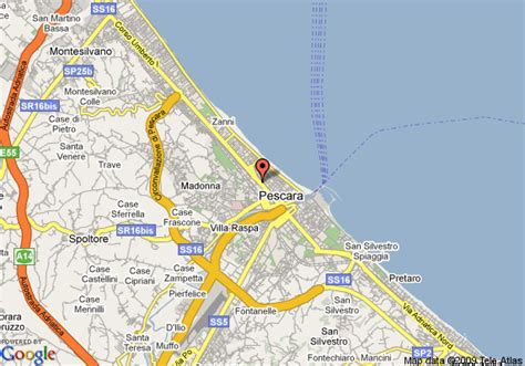 map of pescara italy best western hotel plaza pescara deals see hotel photos