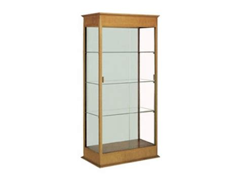trophy display cabinets varsity trophy display 36 quot wx77 quot h trophy display cases