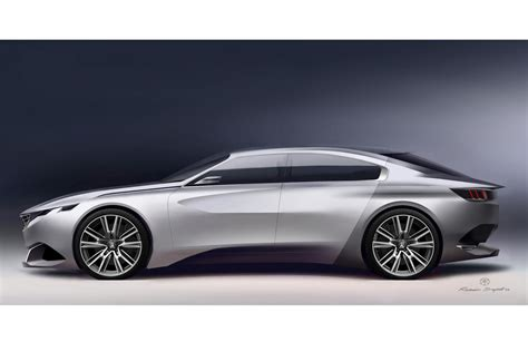 peugeot exalt peugeot s exalt four door coupe concept is a pretty thing