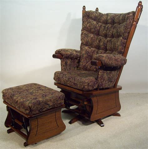 swivel glider rocker with ottoman dutch boy furniture rockers and gliders