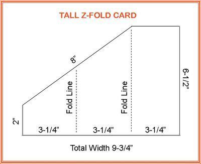 fold card template z fold card crafts printables templates