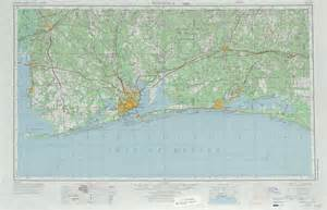 pensacola florida on map pensacola topographic maps fl al usgs topo