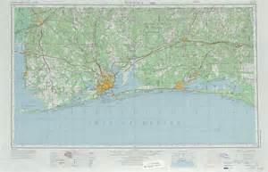 pensacola topographic maps fl al usgs topo