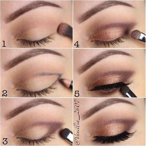 berbagai step by step tutorial eyeshadow natural vemale com best ideas for makeup tutorials how to step by step eye