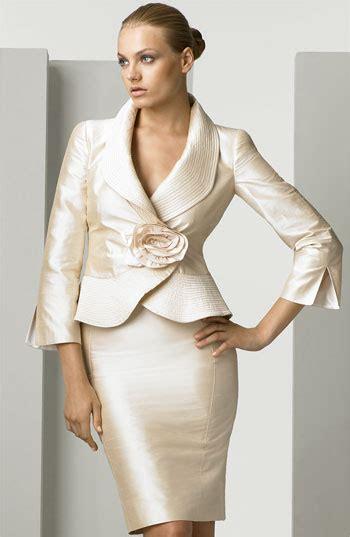 armani collezioni silk shantung skirt suit nordstrom