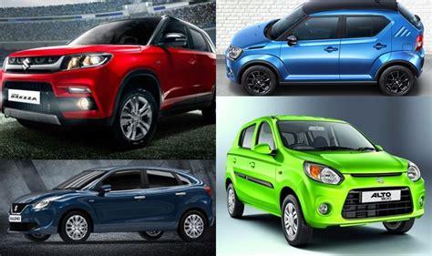 Maruti Suzuki Car Models And Prices Maruti Suzuki Wagon R Vitara Brezza Baleno Prices In