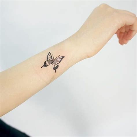 butterfly outline tattoo 90 butterfly tattoos helping you undergo changes in your