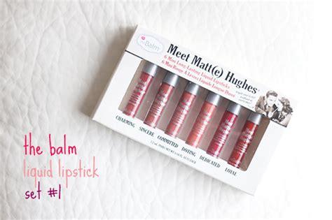 The Balm Mini Set 1 veracamilla nl the balm meet matt e hughes mini liquid