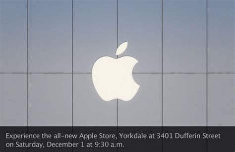 apple yorkdale apple store yorkdale mall in toronto grand opening pics