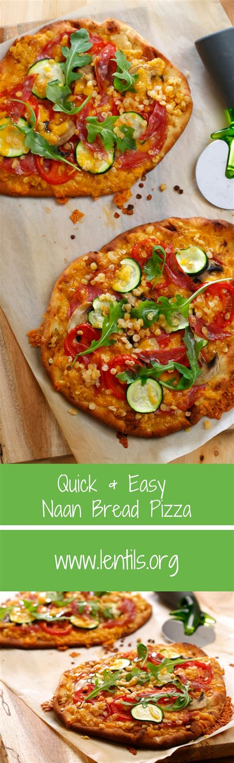 Reader Recipe Simple Naan Pizza by Easy Naan Bread Pizza Lentils Org