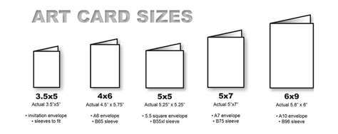 Greeting Card Envelope Size Template by Standard Card Size Quotes For All