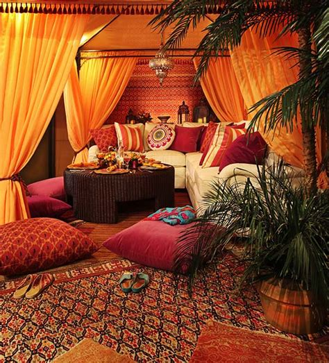 Bohemian Themed Room by 46 Bohemian Chic Living Rooms For Inspired Living