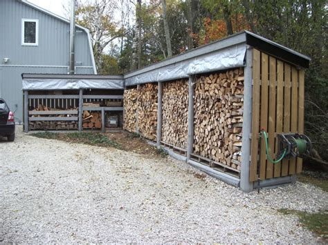 Tarp Sheds by Show Me Your Firewood Storage Shed Rack