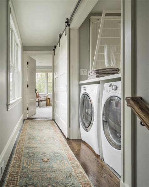 hallway laundry room laundry room farmhouse with historic