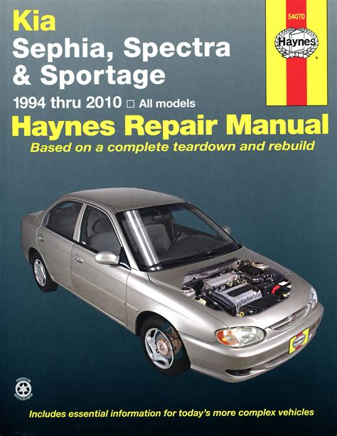 Kia Sportage Owners Manual Haynes Owners Workshop Car Manual Kia Sephia Spectra