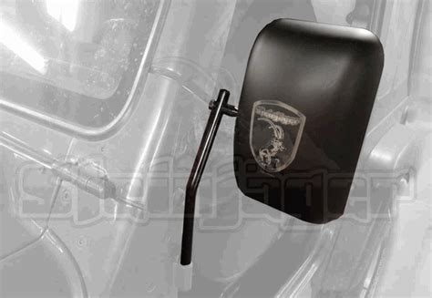 Jeep Wrangler Mirrors Without Doors All Things Jeep Offroad Mirror Pair From Steinjager For