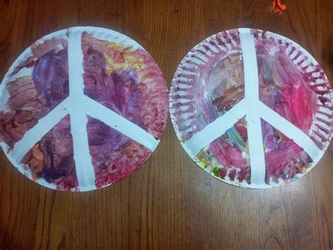 peace crafts for working wonders peace craft for martin luther king