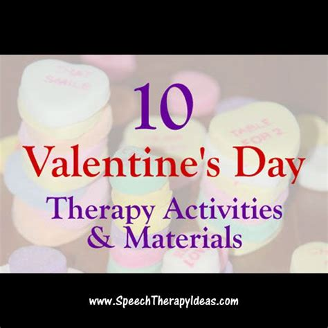 s day speech activities 26 best therapy ideas valentines day images on