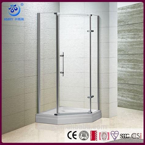 Frameless Shower Door Glass Thickness The Best Custom 38 Inch Semi Frameless Neo Angle Adjustable Shower Door With 3125 In Clear