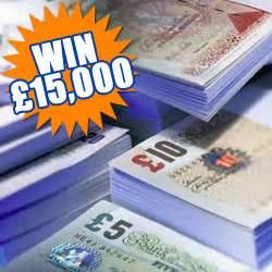 Win Free Money Uk - win 163 15 000 free cash gratisfaction uk