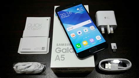Samsung Galaxy A5 Unboxing samsung galaxy a5 2017 unboxing