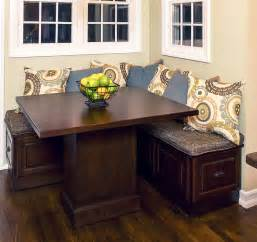 Corner Kitchen Table With Storage Bench » Home Design