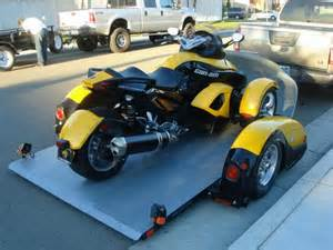 update ast spyder trailer arrives home pics spyder rs