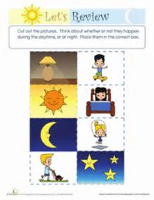 difference between day and night motor skills