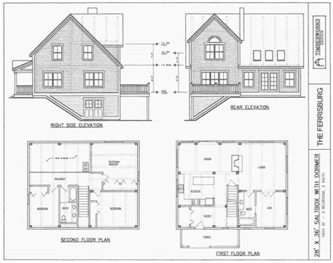 Saltbox Style House Plans by Post Beam House Plans And Timber Frame Drawing