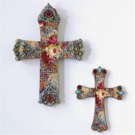 Decoupage Crosses - 108 best decoupage ideas images on decoupage