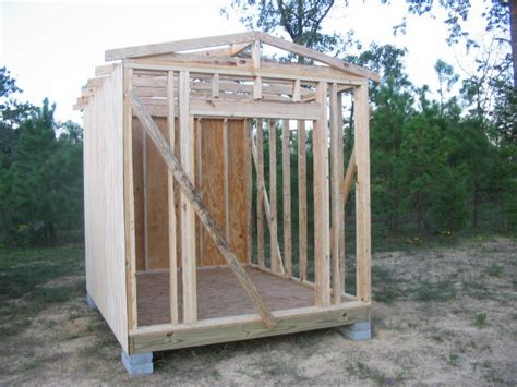 Storage Shed 8x10 by Diy Plans For A 8x10 Storage Shed Goehs