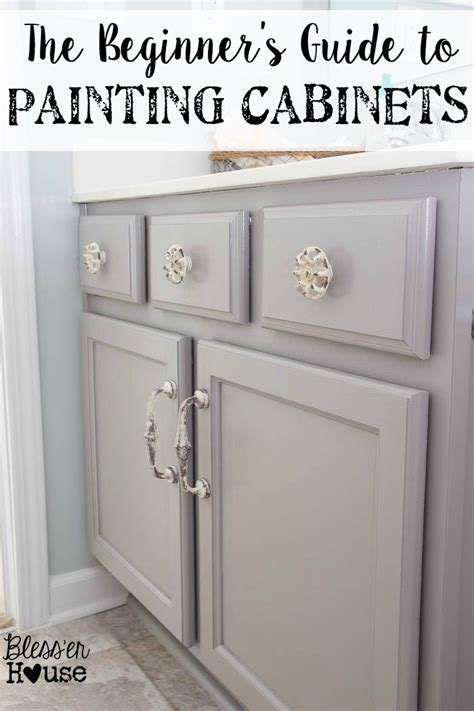 How To Paint Kitchen Cabinet Hardware The Beginner S Guide To Painting Cabinets