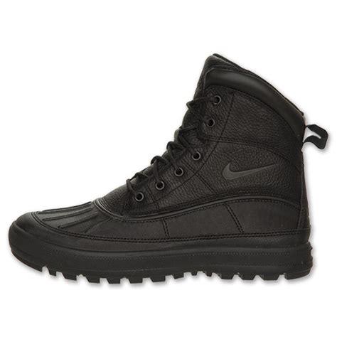s nike woodside ii boots black black on sale nike