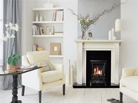 white fireplace in living room designs your home