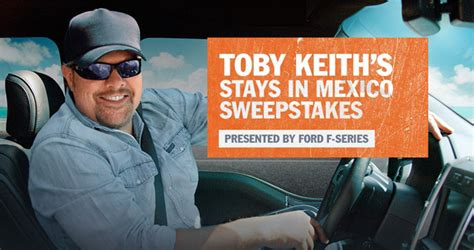 Toby Keith Sweepstakes - sweepstakes rules june 2017 autos post