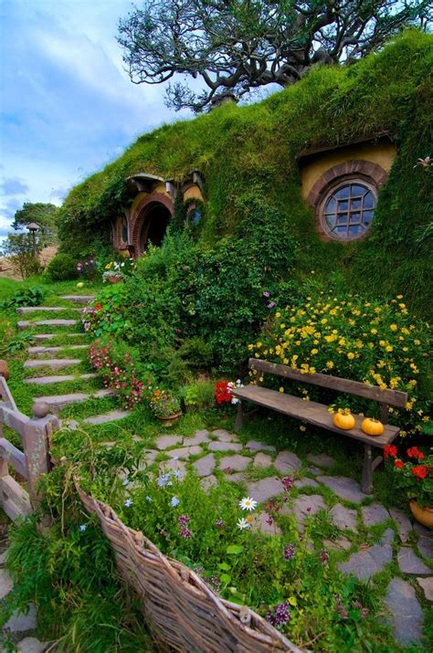hobbit house new zealand fairy tale scenery pinterest there and back again the shire bag end hobbiton