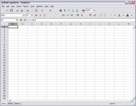 Gnumeric Portable   Free Spreadsheet Program   USB Pen