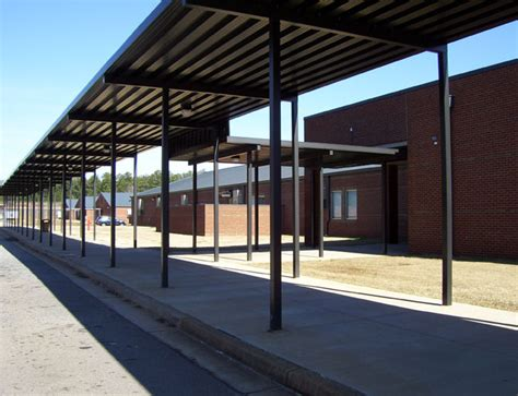 School Canopies And Parent Drop Canopies From Mitchell Metals On