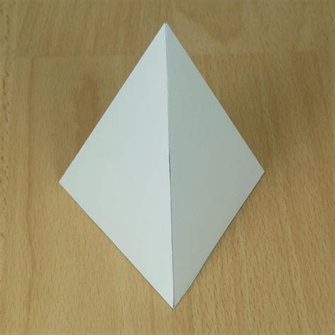 A Paper Pyramid - essay on pyramids