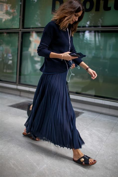 Mellan Fashion Maxi Polka Godwin style at milan fashion week 2017 muoti fashion weeks style and