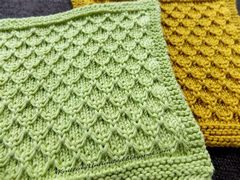 honeycomb knitting pattern dishcloth 11 mock honeycomb knitting unlimited