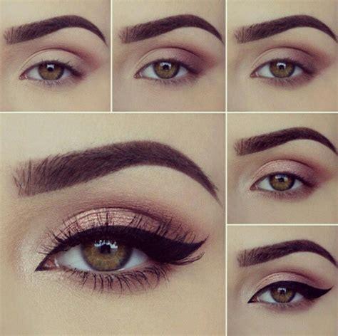 imagenes de ojos naturales 8 pasos para maquillaje de ojos marrones maquillaje de