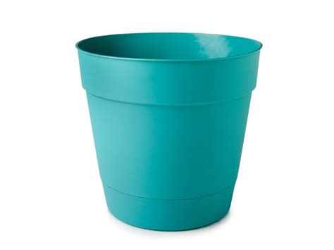 15 inch basic planter 6 pack turquoise tools garden