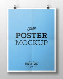Free Mockup Templates by 20 Free Psd Templates To Mockup Your Poster Designs