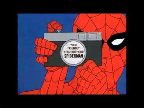 60 s spiderman with 90 s theme song youtube