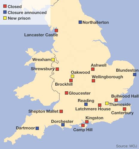 map uk prisons prisons uk map marriages
