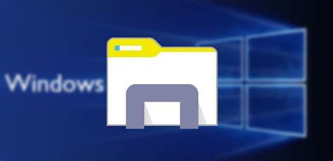 mis imagenes windows 10 la renovaci 243 n del explorador de archivos de windows 10