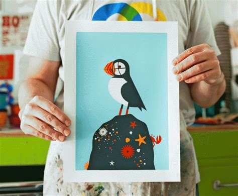 Learn To Earn From Printmaking learn how to make a five color screen print and set up your own home weekend diys popsugar home